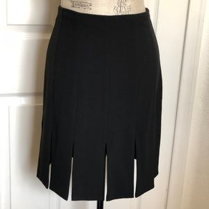 White House Black Market Black Pencil Skirt Size 4